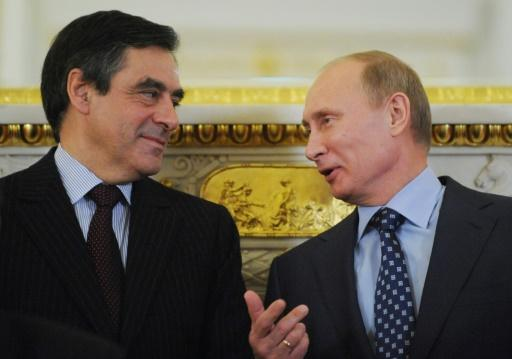 French presidential favourite a friendly face for Putin
