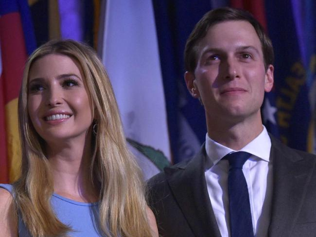 Kushner, who is married to Trump's eldest daughter, Ivanka, helped guide Trump to victory over Hillary Clinton. Picture: Mandel Ngan/AFP