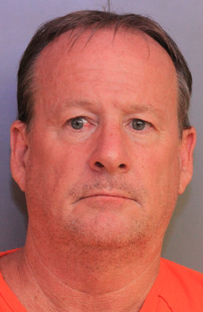 "Christoper Lobban allegedly had a ""spanking fetish"". Picture: Polk County Sheriff's Office"