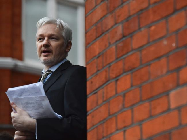 """Julian Assange asaid the report was """"clearly designed for political effect."""" Picture: AFP/Ben Stansall"""