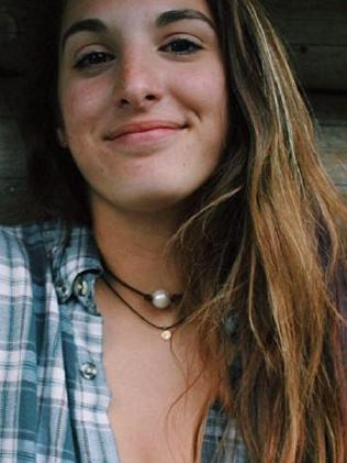 Janie Cozzi, 15, died in the crash. Picture: Facebook